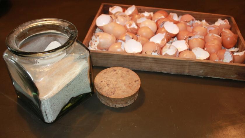 Recettes avec des coquilles d'œufs ! si si si !!